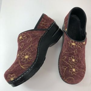 Dansko with flower design size 36 (#5)